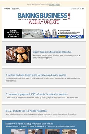 Sosland Kiosk - Milling and Baking News E-Newsletters
